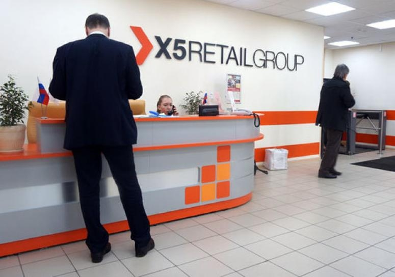 Выручка X5 Retail Group растет