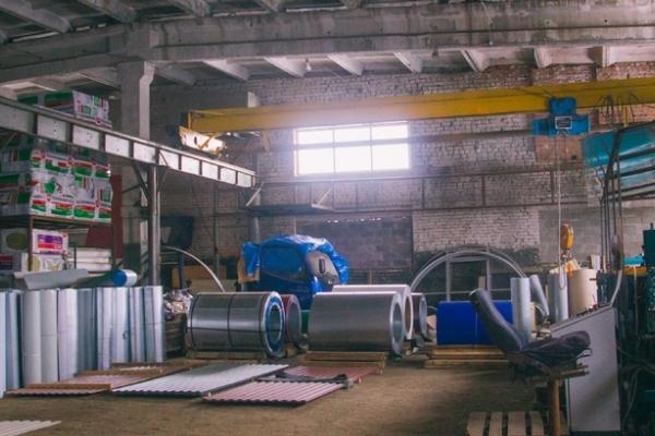 Завод по производству профнастила