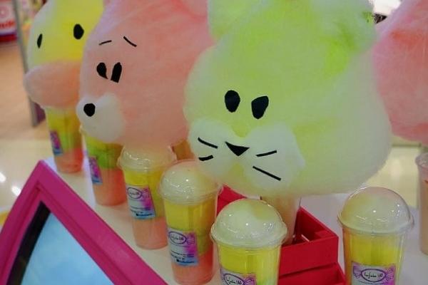 Бизнес по продаже сладостей ручной работы и фигур из сахарной ваты