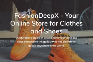 Готовый дропшиппинг онлайн-магазин обуви на Shopify