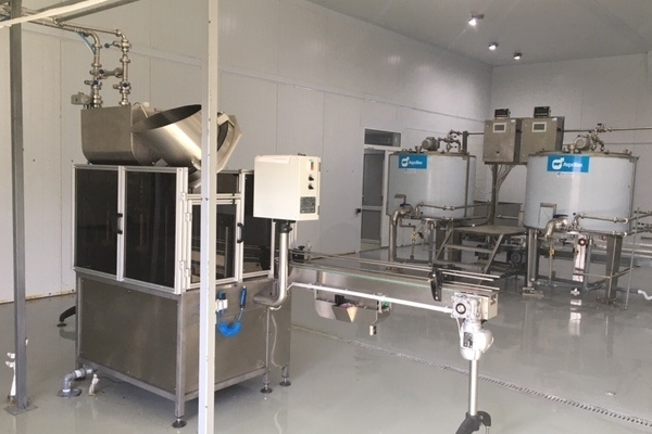 Козоводческая ферма и завод по переработке молока
