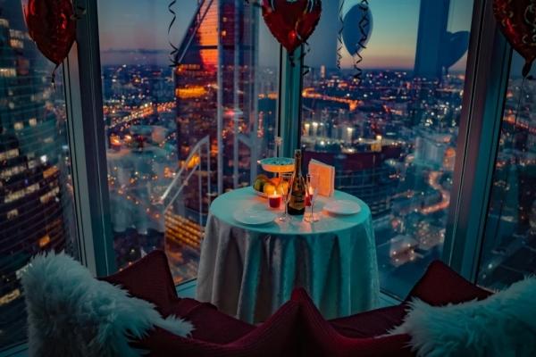 Романтические свидания на 60 этаже в Москва-Сити, готовый бизнес